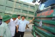 """Bộ trưởng Đinh La Thăng """"xử"""" nhà thầu dùng xe cơi nới thùng hàng"""