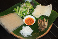 Cá mương nướng níu chân du khách đến Phú Yên