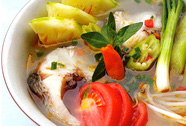 Muốn tránh bệnh gút thì né canh chua bạc hà