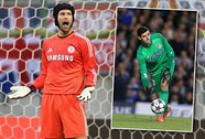 Thủ môn Cech quyết không để Courtois qua mặt