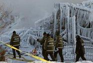 Canada: Vật lộn phá băng tìm nạn nhân hỏa hoạn