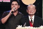 Nghệ sĩ Văn Chung hạnh phúc được chúc thọ