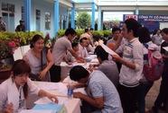 3.165 lao động tham gia ngày hội việc làm
