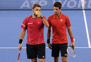 Djokovic và Wawrinka bại trận ở vòng hai Rogers Cup 2014