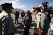 Nữ tổng thống Chile tất tả sơ tán