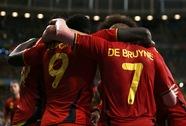 """Siêu dự bị Lukaku lập công, """"Quỷ đỏ"""" Bỉ vào tứ kết"""
