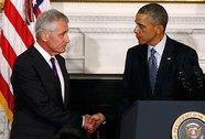 """Obama - Hagel: """"Cuộc hôn nhân"""" đổ vỡ"""