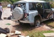 Xe lên Điện Biên nổ lốp, 3 cán bộ công an tử nạn