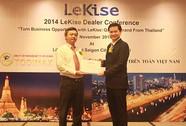 Sản phẩm chiếu sáng thương hiệu Lekise vào Việt Nam
