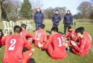 U19 Việt Nam thua liên quân JMG Bỉ - Ghana