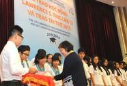 9,1 tỉ đồng học bổng Lawrence S. Ting và tài trợ năm 2015