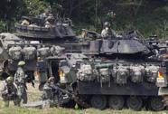 Mỹ phái bộ binh thiết giáp đến Hàn Quốc