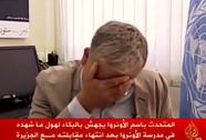 Quan chức LHQ bật khóc trong cuộc phỏng vấn về Gaza