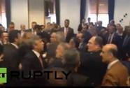 Nghị sĩ Thổ Nhĩ Kỳ lao vào đấm nhau giữa cuộc họp