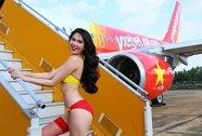 Venus xin lỗi vì rò rỉ ảnh Ngọc Trinh mặc bikini quảng cáo cho VietJet