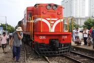 Tàu lửa chệch đường ray khi vào Ga Biên Hòa