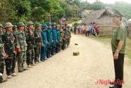Diễn tập thực binh đánh địch xâm nhập biên giới