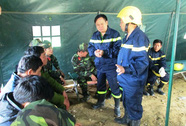 Vụ sập hầm thủy điện: Đã đưa được 12 nạn nhân ra khỏi hầm!