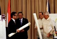 """Philippines-Indonesia ký hiệp ước biển """"lịch sử"""""""