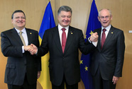 EU ký hiệp định liên kết với Ukraine, Gruzia, Moldova