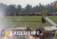 Ấn Độ: Máy bay quân sự rơi, 7 quân nhân thiệt mạng