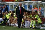 Thua tan tác, HLV Del Bosque vẫn không thay đổi lối chơi