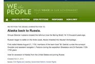 Xuất hiện kiến nghị đòi Mỹ trả Alaska cho Nga