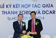 Lễ ký kết hợp tác giữa Ford và Dcar