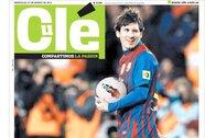 Nhật báo nổi tiếng Olé đổi tên để vinh danh Lionel Messi