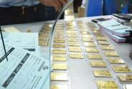 Cấm mang vàng miếng khi xuất, nhập cảnh