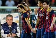 HLV Mourinho chê Barcelona tệ nhất trong nhiều năm qua