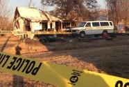 Một phụ nữ và 8 đứa con chết cháy