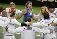Kvitova tỏa sáng, tuyển quần vợt nữ CH Czech vô địch Fed Cup