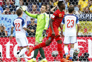Đá thiếu lửa, Bỉ vẫn vào vòng 2