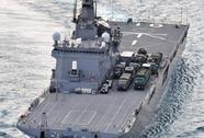 Nhật Bản: Tàu hải quân đâm tàu cá, 2 người nguy kịch