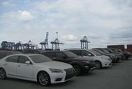 19 ô tô cao cấp tồn đọng tại cảng Cái Mép