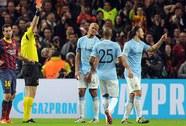HLV Pellegrini giận dữ với trọng tài sau trận thua 0-2 trước Barca