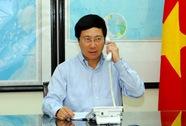Bộ trưởng Ngoại giao điện đàm, yêu cầu Trung Quốc rút giàn khoan HD-981
