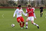 Xem U19 VN phá lưới U19 Arsenal