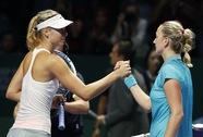 Wozniacki hạ Radwanska, Sharapova đại bại trước Kvitova