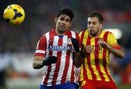 Chia điểm ở Calderon, Barcelona vô địch lượt đi