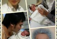 NSƯT Kim Tiểu Long công bố ảnh con trai thứ hai