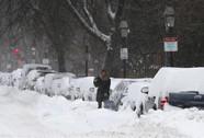 """Lốc xoáy Bắc Cực đe dọa """"đông đá"""" nước Mỹ"""