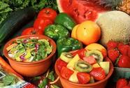 Ngừa khối u ở vú với rau trái