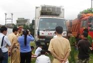 Tài xế xe tải tông chết người bỏ trốn