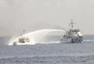 Tàu Trung Quốc lập đội hình vòng cung ngăn cản tàu Việt Nam