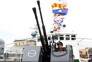Tàu Cảnh sát biển Việt Nam 4033 đã có mặt tại Hoàng Sa