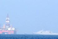 Trung Quốc lại tăng số lượng tàu quân sự ra giàn khoan 981