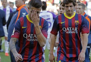 """Song sát"" Messi - Neymar tịt ngòi, Barcelona thua sốc Valladolid"