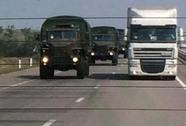 Xe chở hàng cứu trợ của Nga đi đâu?